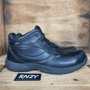 Dunham GoreTex Black Leather Waterproof Boots